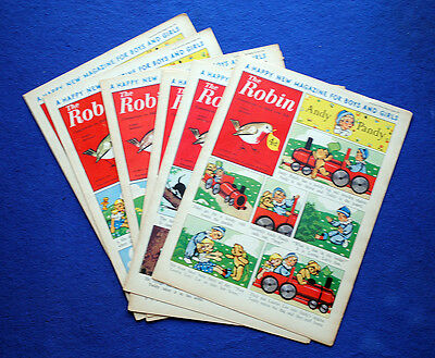 ROBIN COMIC 1953 x 9 Issues * Volume 1 (first year)