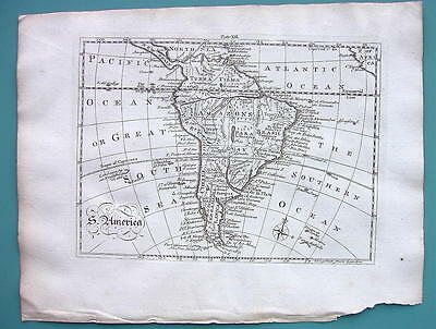1771 ORIGINAL MAP - South America