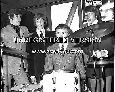 "Bee Gees 10"" x 8"" Photograph no 2"