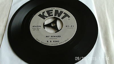 "B.B. King THE ROAD I TRAVEL/MY REWARD 7"" USA import"