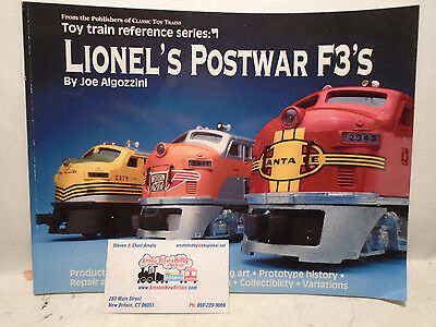 Greenberg's #107950 Lionel's Postwar F3's Guide New Free Shipping