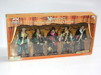 Rare NSYNC No Strings Attached Collector Edition Toy Figure Marionette Box Set