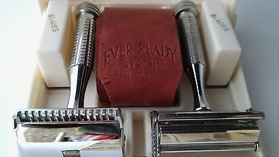 "Vintage Antique  ""Ever-Ready"" Streamline"" Safety Razor Set with Case & Box"