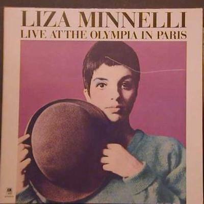 Liza Minnelli Live at the Olympia in Paris A&M Vinyl LP