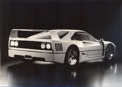 Ferrari F40 - original official 1987 Pininfarina press photo 2