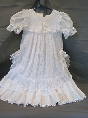 Vintage Infant Comunion Dress 9M