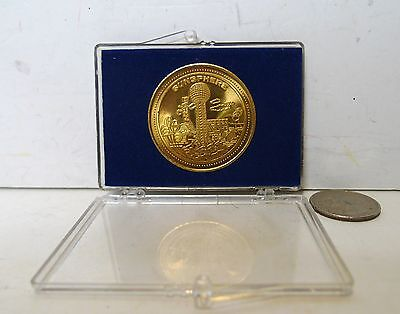 1982 Worlds Fair Coin Knoxville Tennessee with Case !!!