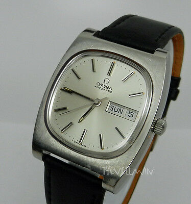 Men's Authentic Swiss Made Omega Vintage 17 Jewel Automatic Date Dial Watch