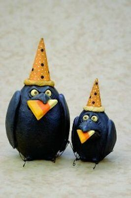 Candy Corn Crows by David Everett  #36139