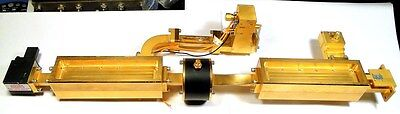 WAVEGUIDE WR-42 ASSEMBLY-01 - HUGHES Gold-Plate - Looks-Perfect - 7-Major-Pieces