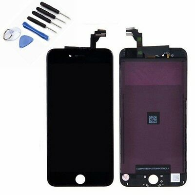 For iPhone 6 Plus 5.5'' New LCD Touch Screen Digitizer Frame Assembly Black AU