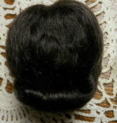New Replacement Ginny Doll Wig-100% Mohair-Size 6-Dark Brown
