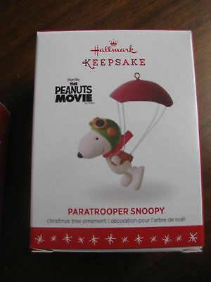 2016 Hallmark SOLD OUT The Peanuts Gang Stormtrooper Snoopy Christmas Ornament