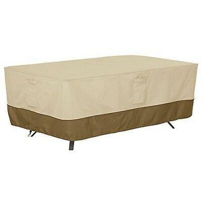 Classic Accessories Veranda Patio Table Cover- Rectangle/Oval- X-Large NEW