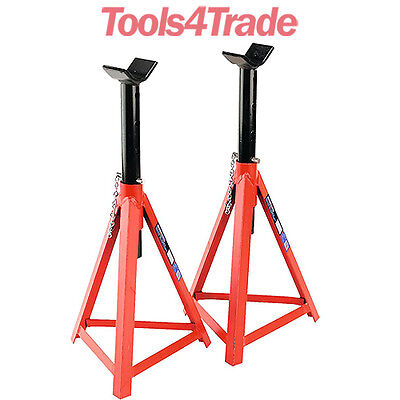 Sealey Axle Stands Pair 2.5 tonne Each Medium Height AS3000
