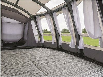 Kampa Cushioned Carpet 2017 for RALLY PLUS EXTENSION *new design*