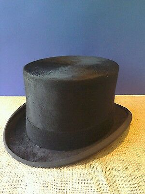 """New Silk Top Hat By Christys' Of London 23"""" Or 59Cm"""