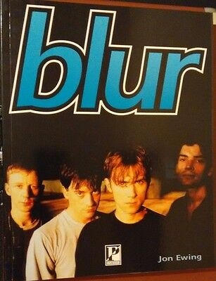 BLUR: Jon Ewing 1996 - A4 Book with great pictures (Excellent)