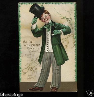 Top of the Mornin St Patricks Day Irish Tuck Postcard series 1037
