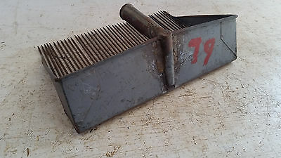 Vintage Downeast Maine Blueberry Rake,Steel,45 tines,teeth,Still useful