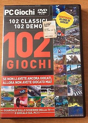 PC GIOCHI 102 DEMO  vol. 1 MAGIC PRESS DVD