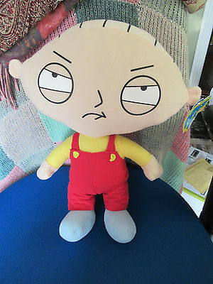 """Bnwt Official 2016 Family Guy Large Soft Plush Toy Stewie New Gift 14"""" / 36Cm"""