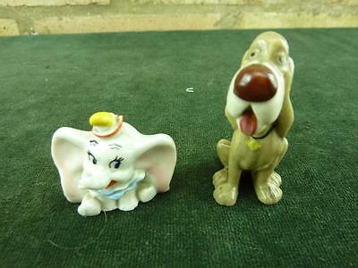 Vintage Wade Whimsie  The Hat Box Series Dumbo and Trusty