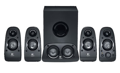 Logitech Z506 5.1 Surround Sound Speakers System - Black - PC/TV/PS4/Xbox/Phone