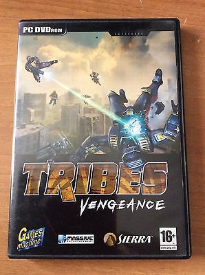 THE GAMES MACHINE DVD gioco completo per PC TRIBES VENGEANCE e altro..