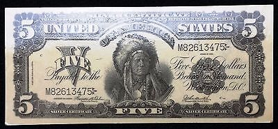 1899 United States $5 Silver Certificate Reproduction - Free Combined Shipping