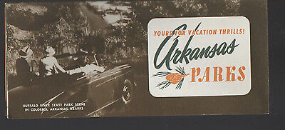 Yours for Vacation Thrills Arkansas Parks Brochure 1960s