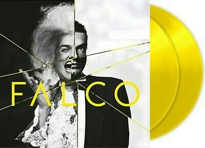 "Falco ""falco 60 gelb farbende Vinyl 2LP NEU 2017 Best Of"