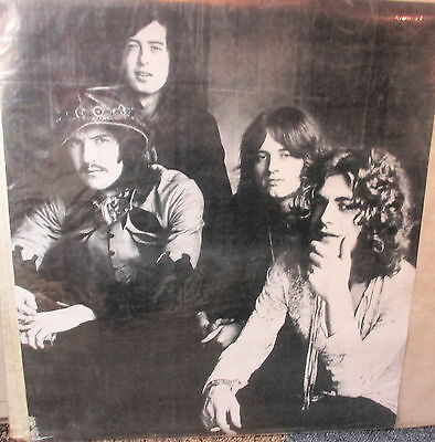 Led Zeppelin Poster - black & white giving ORIGINAL beautiful picture of Led !