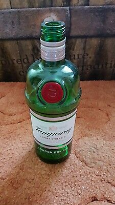 Empty Tanqueray Gin Bottle 70cl ( NO LID ). Up Cycle For Crafts.