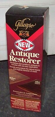 Gillespie Antique Restorer Product Number AI-230!  New in original packaging.