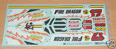 Tamiya 58403 Fire Dragon (Re-Release), 9495532/19495532 Decals/Stickers, NIP