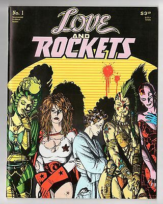 Love and Rockets #1 (1982 Series) 2nd Printing Magazine Fantagraphics NM 9.4