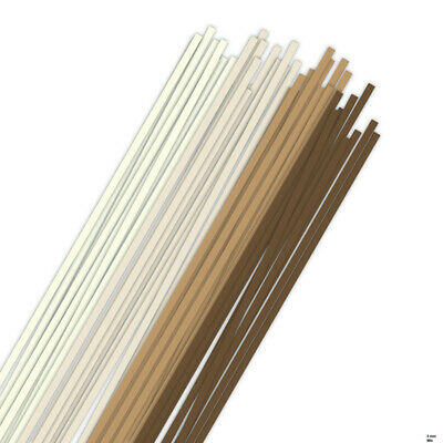 Karen Marie Klip: Quilling Papierstreifen MIX dark & light braun/brown, 3x450mm,