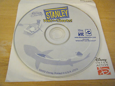PLAYHOUSE DISNEY STANLEY Wild for Sharks - Pre-Owned PC CD