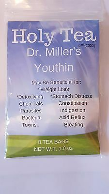 Dr. Miller's Holy Tea * 1 Mo. Supply  Original Holy Tea, Comes From Dr. Miller