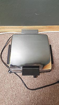 Waffle Maker Black & Decker Stainless Steel Counter Griddle Grill 3 in 1 G48TD