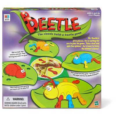 New Hasbro Beetle - The Classic Build-A-Beetle Board Game 04437