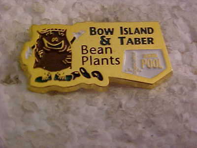 Alberta Pool Bow Island And Taber Bean Plants Lapel Pin