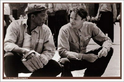 "Shawshank Redemption movie poster 24 x 34""   Prison Yard"
