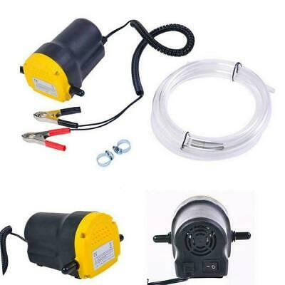 Oil Diesel Fuel Fluid Extractor Electric Transfer Scavenge Suction Pump 12V 5A