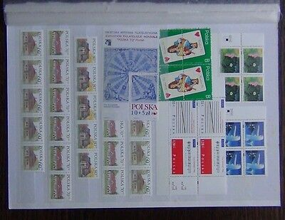 Poland 1997 Greetings Cards 1997 1998 Europa sets + others MNH
