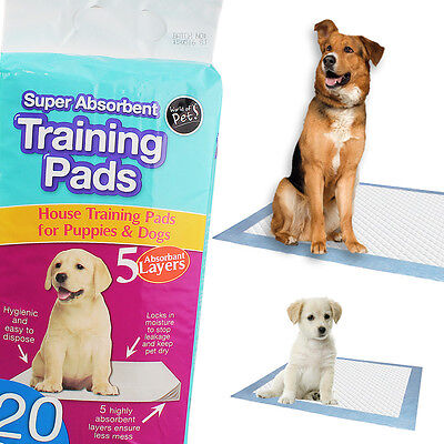 Puppy Training Pads Large Trainer Toilet Pee Wee Absorbent Mats Pets Dog Cat