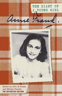 The diary of a young girl by Anne Frank (Paperback)