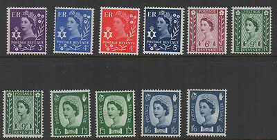 Northern Ireland 11 pre-decimal definitives unmounted & mounted mint.