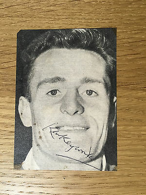 Rare Ken Keyworth signed picture Leicester City autograph 1958-1964